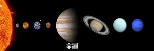 太陽系 比較