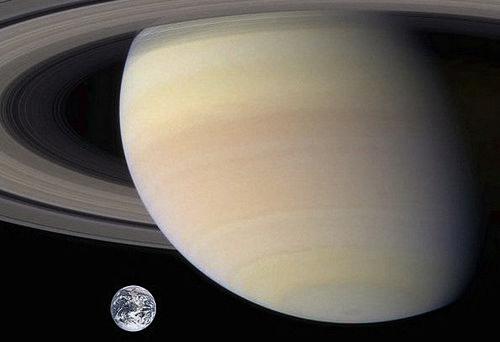 土星 地球