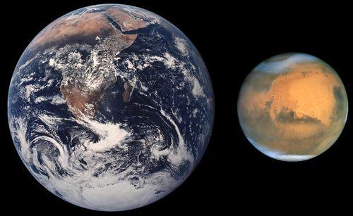 地球 火星