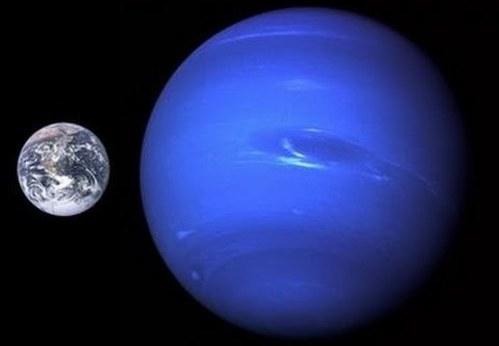 海王星 地球