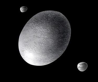 ハウメア 衛星