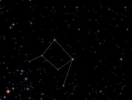 天秤座 星座線