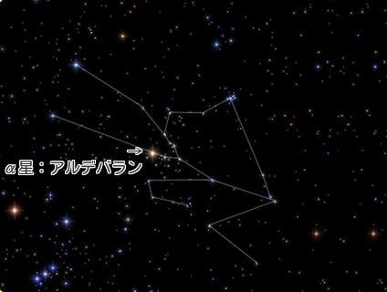 牡牛座 星座線