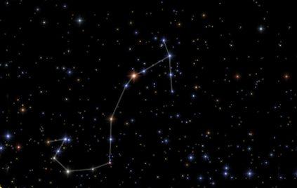 さそり座 星座線